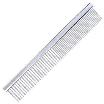 metal dog comb