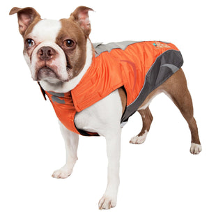 Dog Helios ® Altitude-Mountaineer Wrap-Velcro Protective Waterproof Dog Coat w/ Blackshark technology
