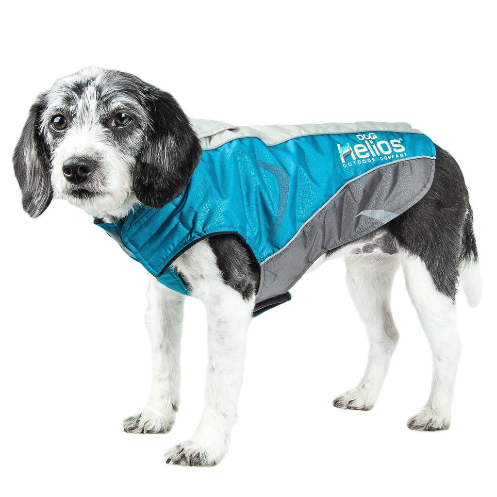 Dog Helios ® Altitude-Mountaineer Wrap-Velcro Waterproof Dog Coat