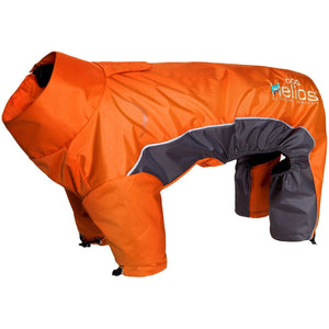 Dog Helios ® Blizzard Full-Bodied Adjustable and 3M Reflective Dog Jacket X-Small Orange