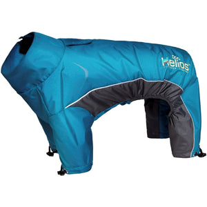 Dog Helios ® Blizzard Full-Bodied Adjustable and 3M Reflective Dog Jacket X-Small Blue