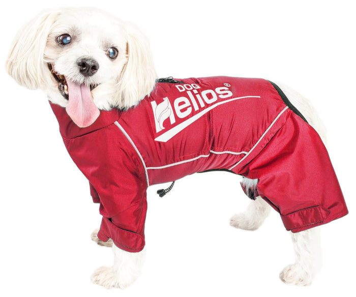 Dog Helios ® 'Hurricanine' Waterproof and Reflective Full Body Dog Coat