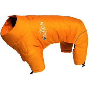Dog Helios ® Thunder-crackle Adjustable and Reflective Full-Body Waded Winter Dog Jacket X-Small Sporty Orange