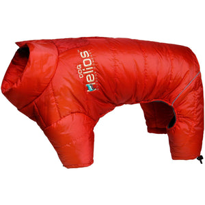 Dog Helios ® Thunder-crackle Full-Body Waded-Plush Adjustable and 3M Reflective Dog Jacket X-Small Grenadine Red