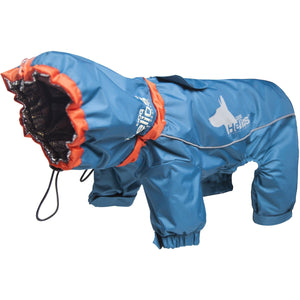Dog Helios ® Weather-King Ultimate Windproof Full Bodied Pet Jacket X-Small Blue