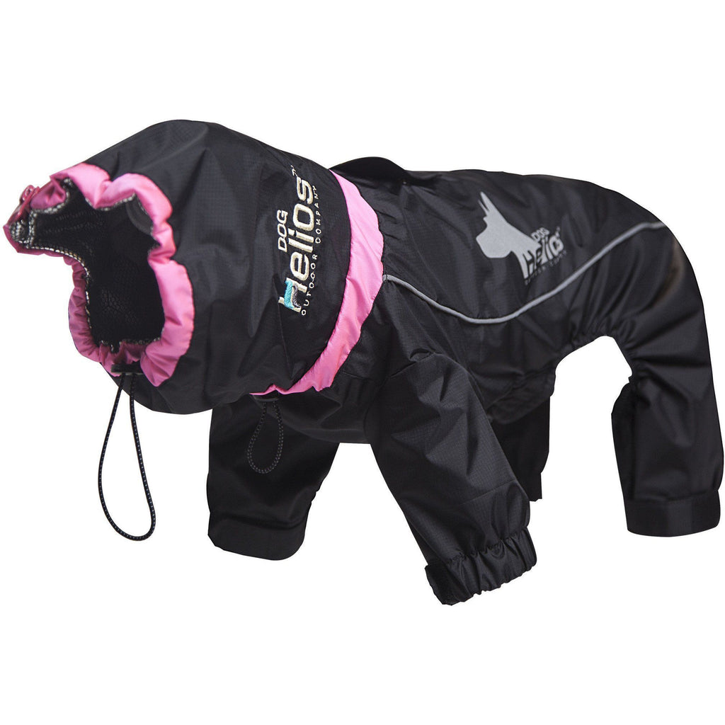 Dog Helios ® Weather-King Ultimate Windproof Full Body Winter Dog Jacket X-Small Black