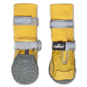 Dog Helios 'Traverse' Premium Grip High-Ankle Outdoor Dog Boots X-Small Yellow