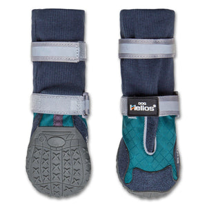 Dog Helios 'Traverse' Premium Grip High-Ankle Outdoor Dog Boots X-Small Blue