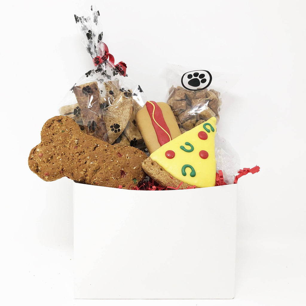 Pet Life 5 Piece Small Dog Biscuits and Treats Gift Set