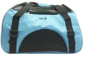 Pet Life ® 'Altitude Force' Airline Approved Sporty Zippered Folding Fashion Pet Dog Carrier