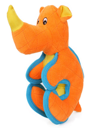 Pet Life ® 'Dino-Funimal' Animated Nylon Plush Squeaker Dog Toy