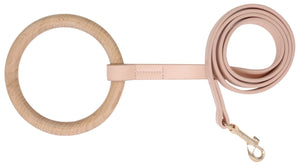 Pet Life ® 'Ever-Craft' Boutique Series Beechwood and Leather Designer Dog Leash
