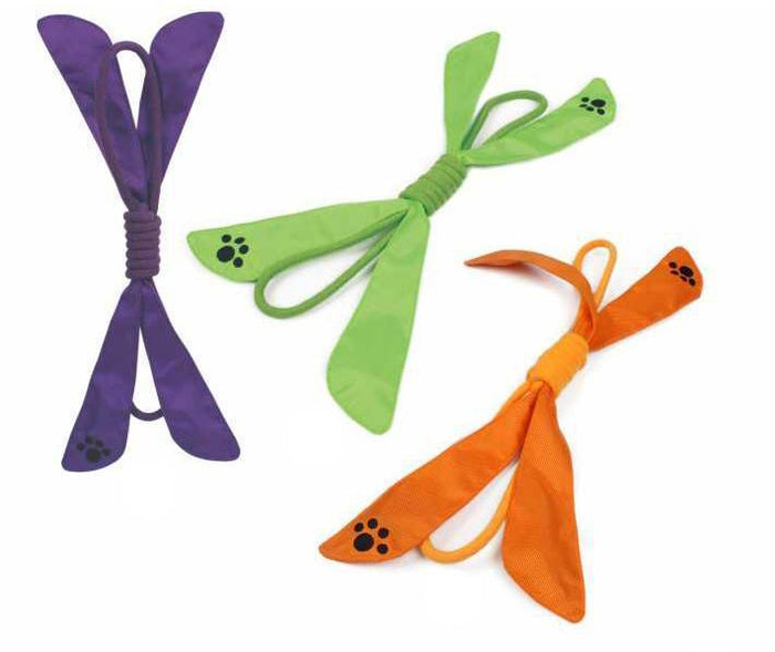 Pet Life ® 'Extreme Bow' Sporty Rope and Squeak Dog Toy