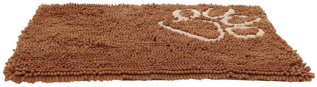 Pet Life ® 'Fuzzy' Quick-Drying Anti-Skid and Machine Washable Dog Mat Light Brown