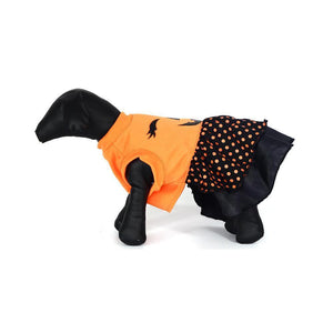 Pet Life ® LED Lighting Halloween Dress Hooded Dog Costume Sweater w/ Included Batteries