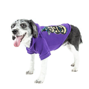 Pet Life ® LED Lighting Halloween Happy Snowman Hooded Dog Costume Sweater w/ Included Batteries