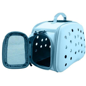 Pet Life ® 'Narrow Shelled' Perforated Lightweight Collapsible Military Grade Fashion Designer Travel Pet Dog Carrier Crate Default Title