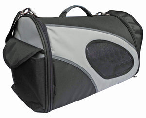 Pet Life ® 'Phenom-Air' Airline Approved Collapsible Fashion Designer Pet Dog Carrier