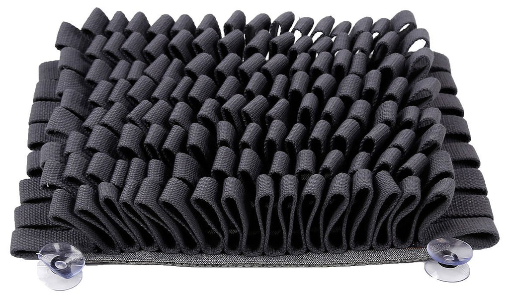 Pet Life ® 'Sniffer Grip' Interactive Anti-Skid Suction Pet Snuffle Mat Gray