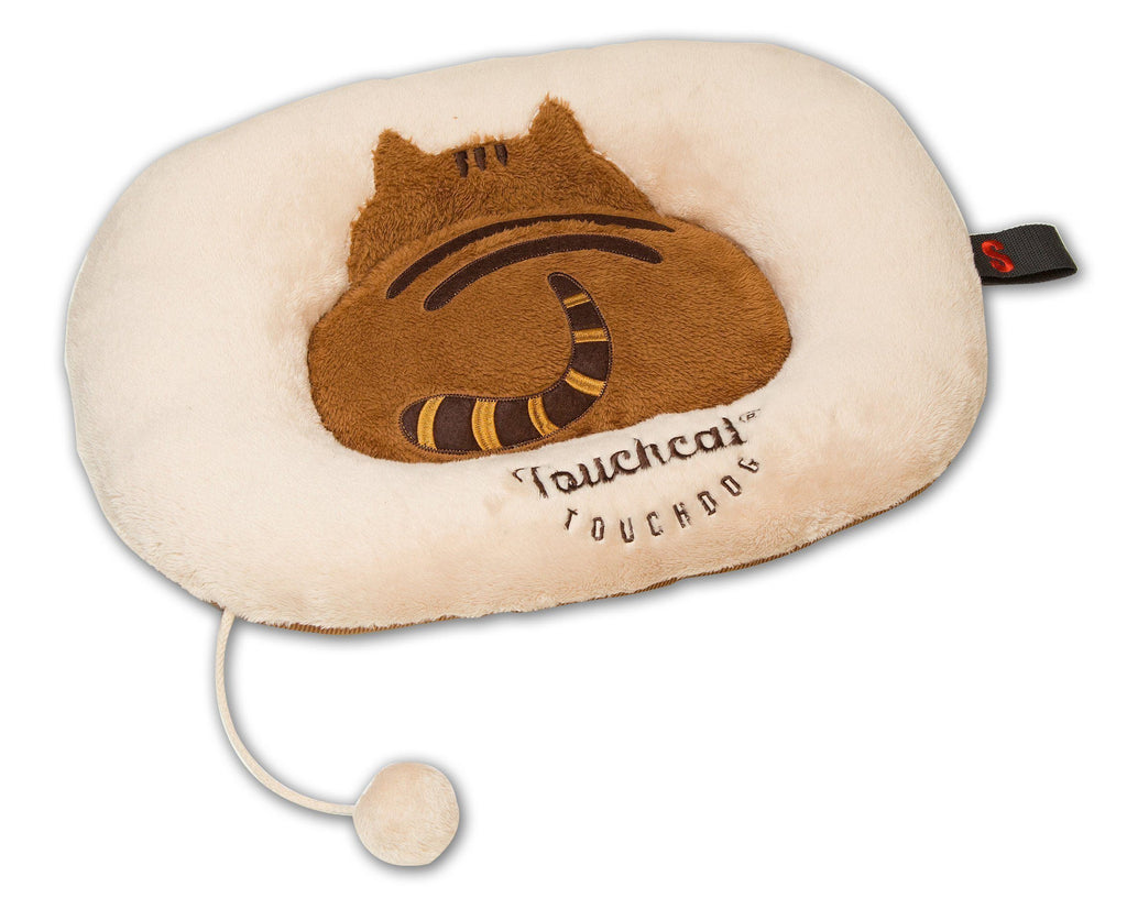 Touchcat ® 'Exquisite-Plush' Premium Kitty Fashion Designer Pet Cat Bed Lounger Mat Lou...
