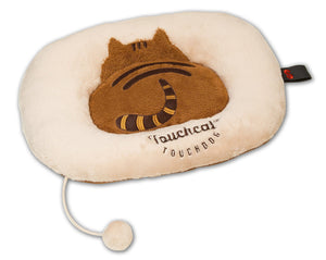 Touchcat ® 'Exquisite-Plush' Premium Kitty Fashion Designer Pet Cat Bed Lounger Mat Lounge