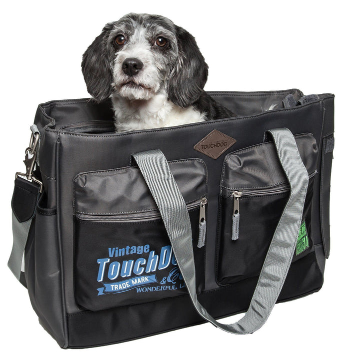 Touchdog ® 'Active-Purse' Water Resistant Designer Fashion Pet Dog Carrier