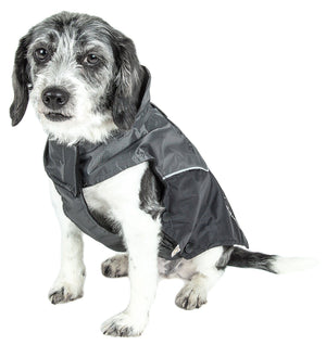 Touchdog ® Lightening-Shield 2-in-1 Dual-Removable-Layered Waterproof Dog Jacket