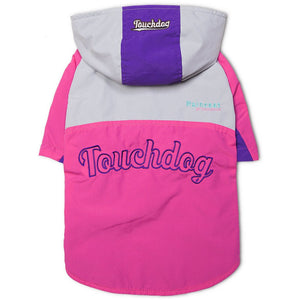 Touchdog ® 'Mount Pinnacle' Insulated Performance Retro Ski Dog Jacket X-Small Pink