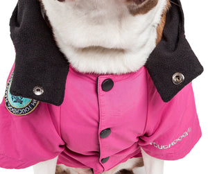 Touchdog ® 'Mount Pinnacle' Insulated Performance Retro Ski Dog Jacket