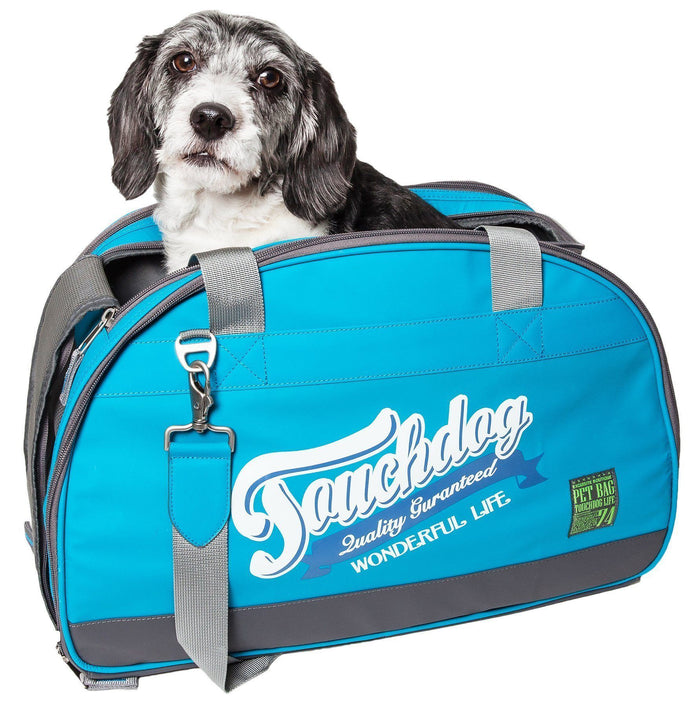 Touchdog ® Original Wick-Guard Water Resistant Airline Approved Travel Dog Carrier
