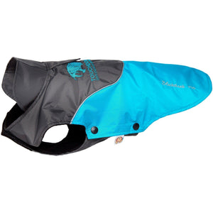 Touchdog ® Subzero-Storm Waterproof 3M Reflective Dog Coat w/ Blackshark technology X-Small Sky Blue, Black