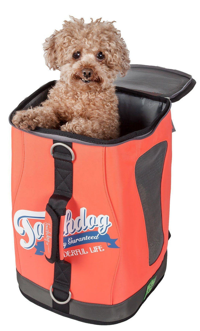 Touchdog ® 'Ultimate-Travel' 3-in-1 Airline Approved Backpack Dog Carrier