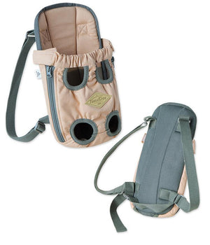 Touchdog ® 'Wiggle-Sack' Fashion Designer Front and Backpack Dog Carrier