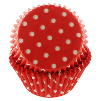 Red Polka Dots Cupcake Liners 60CT