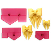 Bows for Drapes Fondant Cutters