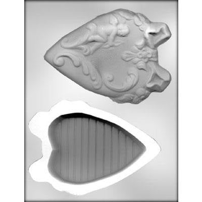 "Heart Box with Cupid 6"" 3D Chocolate Mold - FREE USA SHIPPING Ice Tray Soap Making Plaster Crafting Concrete Crafts"
