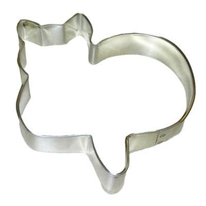 "CAT SITTING 4.5"" COOKIE CUTTER"