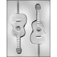 "6.5"" Guitar Lollipop Chocolate Mold"