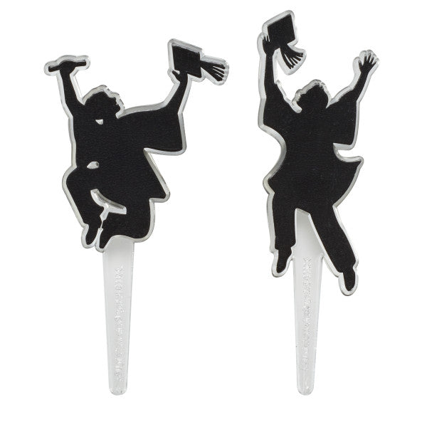 Graduation CC Pick Achieve Your Dream 12ct / Cupcake Topper