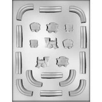 Train and Track Chocolate Mold