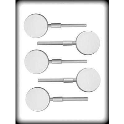 Happy Birthday Hard Candy Lollipop Mold (3 Designs / Sizes)