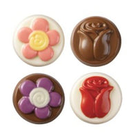 Wilton Flowers Cookie Chocolate Mold - Daisy Rose Tulip FREE USA SHIPPING