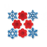 ANGEL SNOWFLAKES CUTTERS - SET OF 4