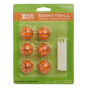 Basketball Candles & Candle Holders