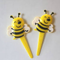 Bumblebee Cupcake Picks