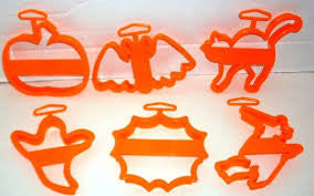 ORANGE FALL HARVEST COOKIE CUTTER SET