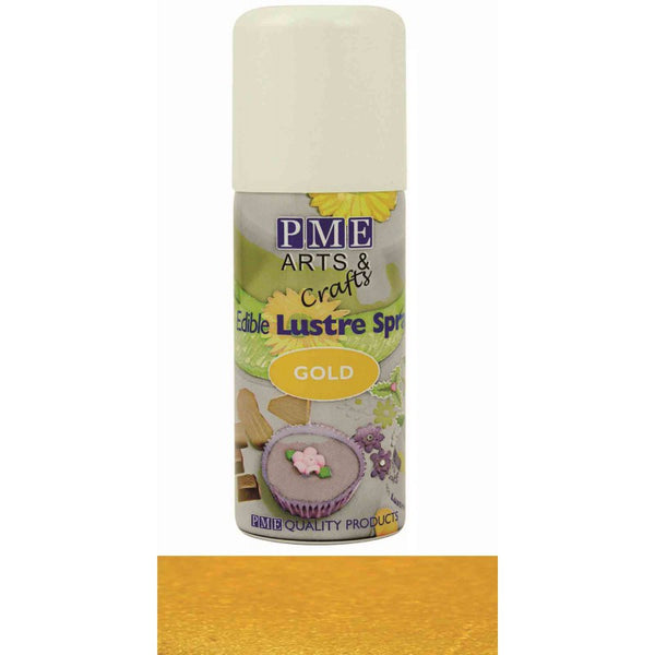 EDIBLE LUSTRE SPRAYS- GOLD