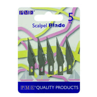 SPARE BLADES FOR CRAFT KNIFE SCALPEL PK5