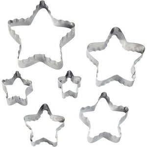 STAR FONDANT DOUBLE CUT-OUTS SET