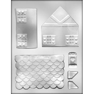 GingerBread House Chocolate Mold 3D